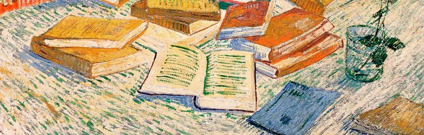 """The Yellow Books"" (Vincent van Gogh, 1887)."